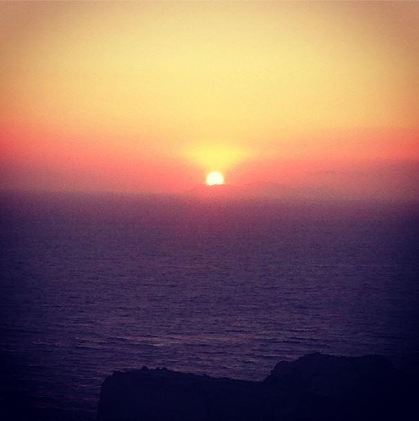 Sonnentuntergang Oia