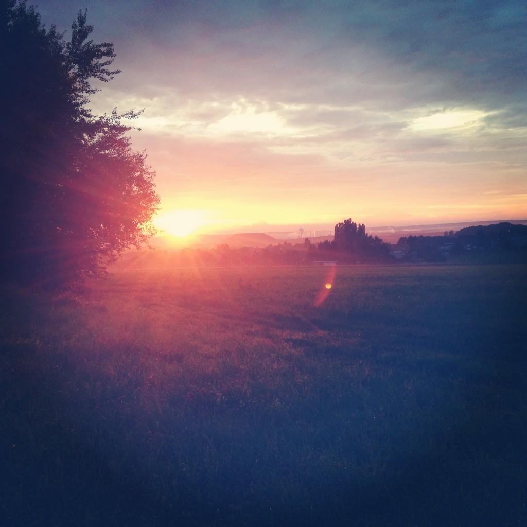 Sonnenaufgang Hinterwald