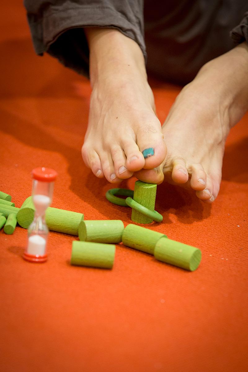 Pedibus – Geschicklichkeitsspiele für die Füße