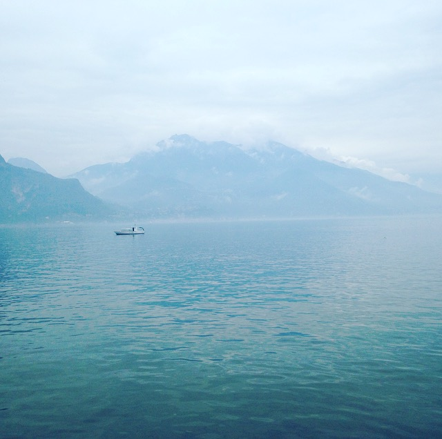 Blick auf den Comer See