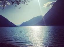 Aussicht Luganer See